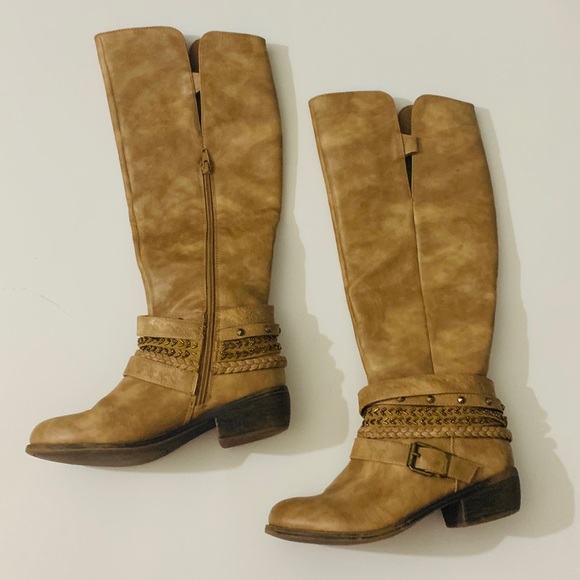 online shop save up to 80% release date: 👢 Tan Knee High Boots